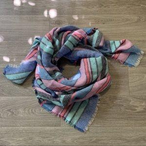 Aerie Striped Blanket Scarf